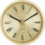 "3 1/8"" Gold Clock Insert with Gold Bezel"