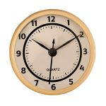 "2 3/4"" Cream Clock Insert with Gold Bezel"