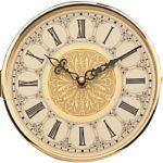 """6 1/4"""" Elegant European Hinged Clock Dial"""
