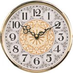 """5 1/8"""" Diamond-Etched Hinged Bezel Clock Dial"""