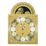 Moving Moon Clock Dial for Hermle 1161-853 114cm Mechanical Movement