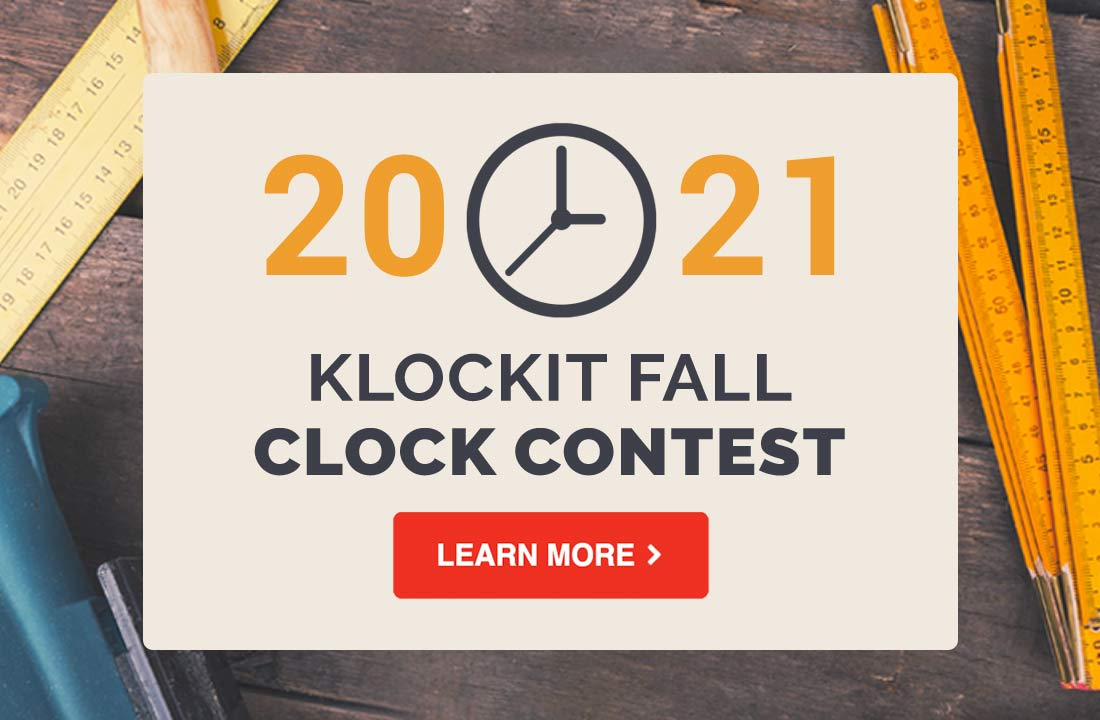 Klockit Fall Clock Contest